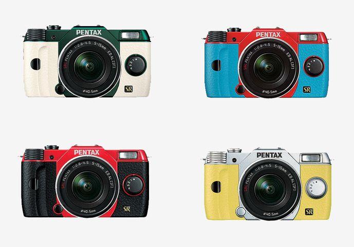Appareil photo Pentax Q7, Ricoh