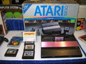 Atari 5200- We thought this was so amazing when we got this for Christmas
