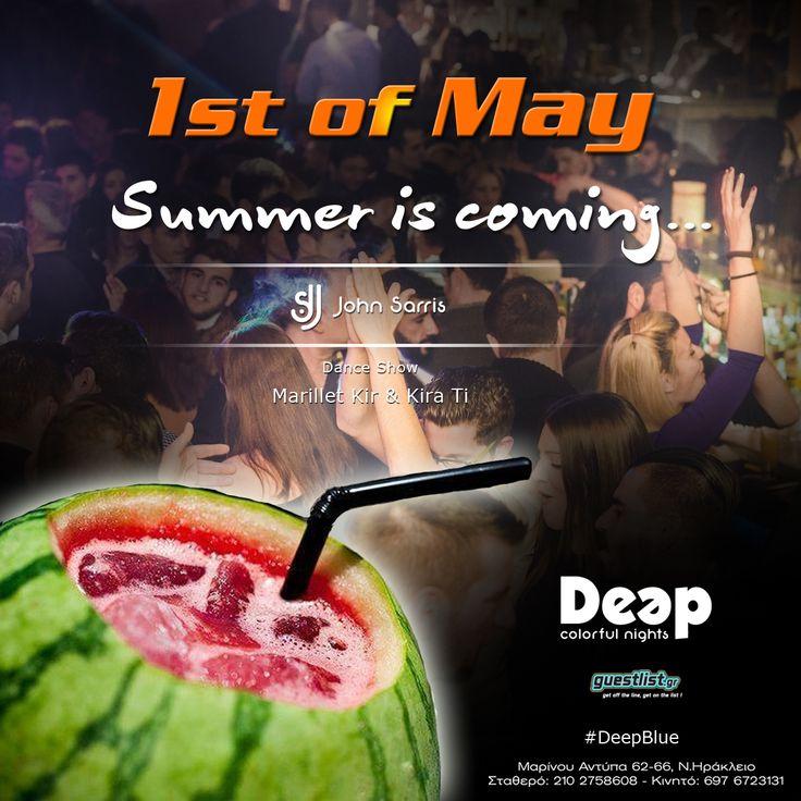 #1stOfMay #DeepBlue #Spring
