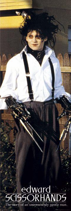 Edward scissor hands costumes (Tim Burton movies)