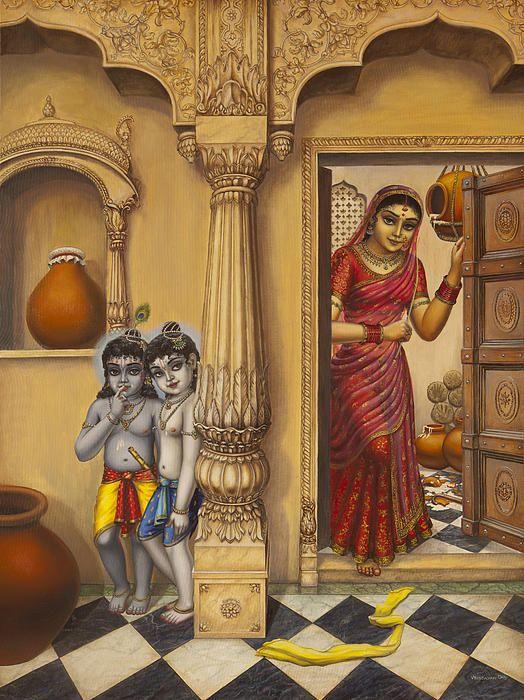 Krishna And Ballaram Butter Thiefs