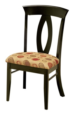 Create A Modern Dining Room Or Kitchen With The Kirkland Contemporary  Dining Chair To Help. Customize These Dining Chairs With Your Choice Of  Wood, ...