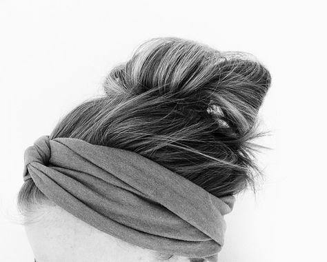 how to make a twisted headband