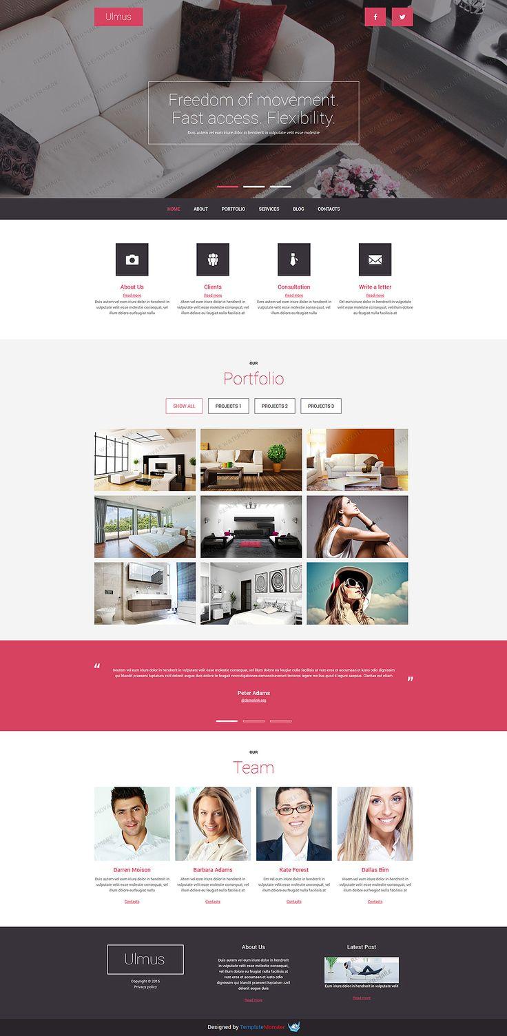 Free Interior Furniture Joomla Template Templatemonster