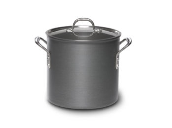 Calphalon Commerical Hard-Anodized 12-qt. Stockpot $99 (I want real pots!)
