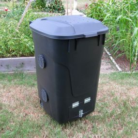 build your own wheelie bin composter vegetable gardener with regard to how tou2026