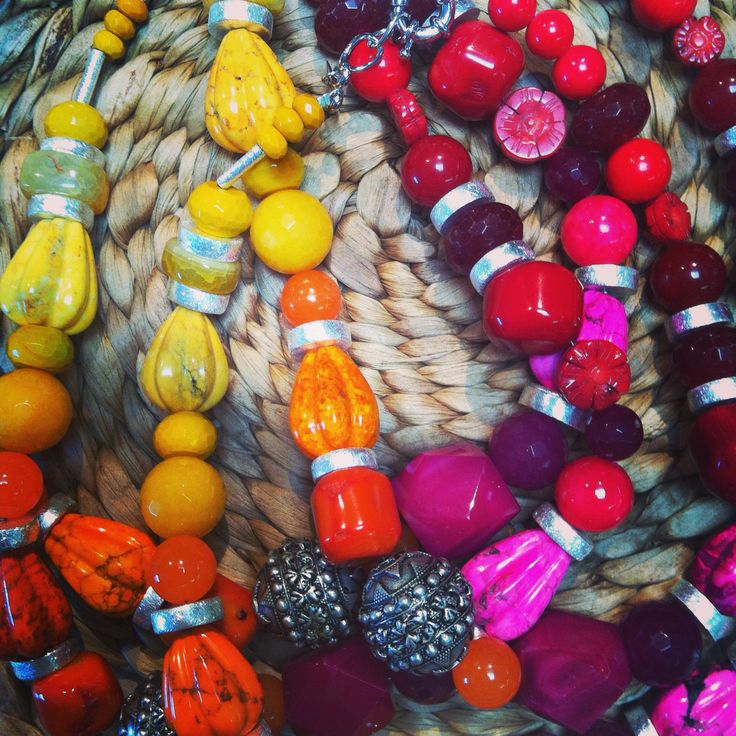 MOKO rocks out the colour with our Australian made necklaces . Handmade Jewellery from Melbourne Australia . www.moko.co