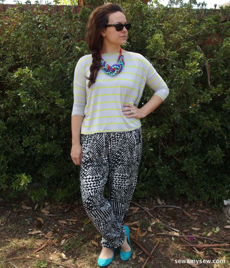Mandy Boat Tee and Suzy Pants from Tessuti.