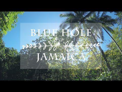 IRIE BLUE HOLE, JAMAICA | Falmouth, Jamaica Tour - YouTube