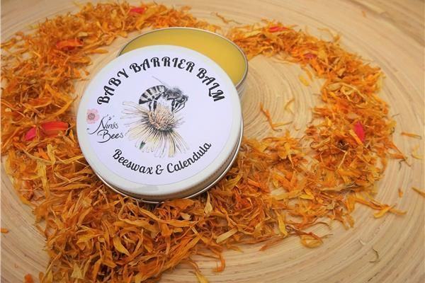 Nina's Bees Baby Barrier Balm with Beeswax and Calendula is lovingly handcrafted at a boutique apiary in the Blue Mountains, using only the finest organic oils and our own beeswax. This gentle, 100% pure botanical barrier balm provides good protection and soothing for the tender skin.   As a mother of two little kids I have always looked for non-zinc barrier creams that would provide protection and alleviate any rash. This barrier balm contains simple, safe ingredients with no hidden…