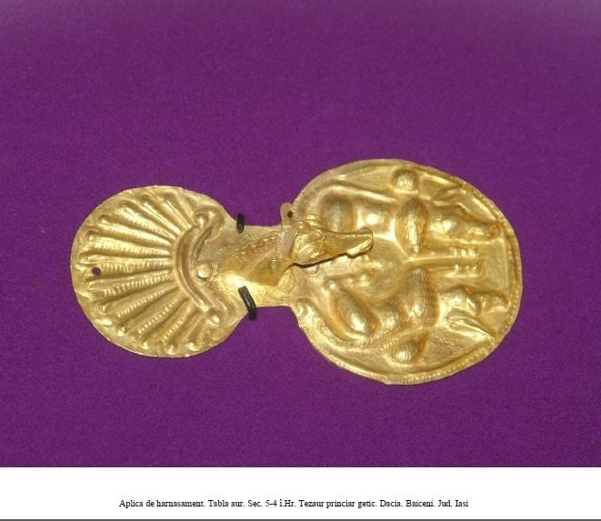 Dacian gold 400 -500 BC  Romania