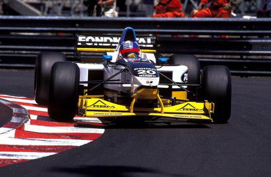 Ukyo Katayama - Minardi M197 - 1997 - Monaco GP
