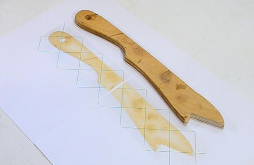 Making table saw push sticks - from woodgears.ca