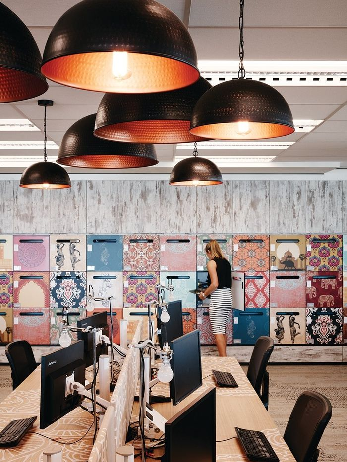 The Bold Collective has designed the new offices of housing company Porter Davis located in Melbourne, Australia.