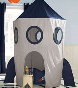 Space Canopy Tent. Many other tents and play homes. Love this one, If only i can find a pattern for it!!!