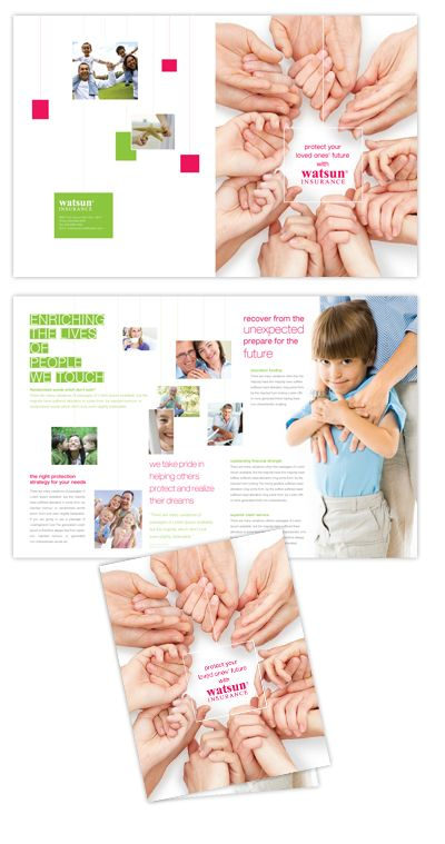 Life Insurance Company brochure design