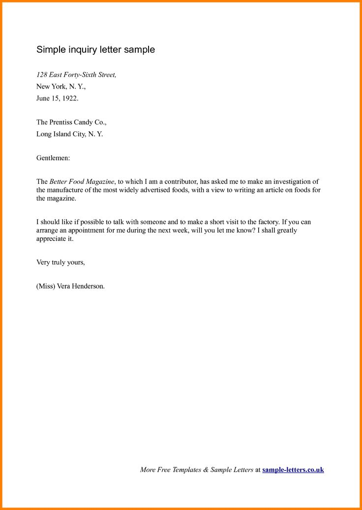 25+ Beste Ideeën Over Formal Business Letter Format Op Pinterest