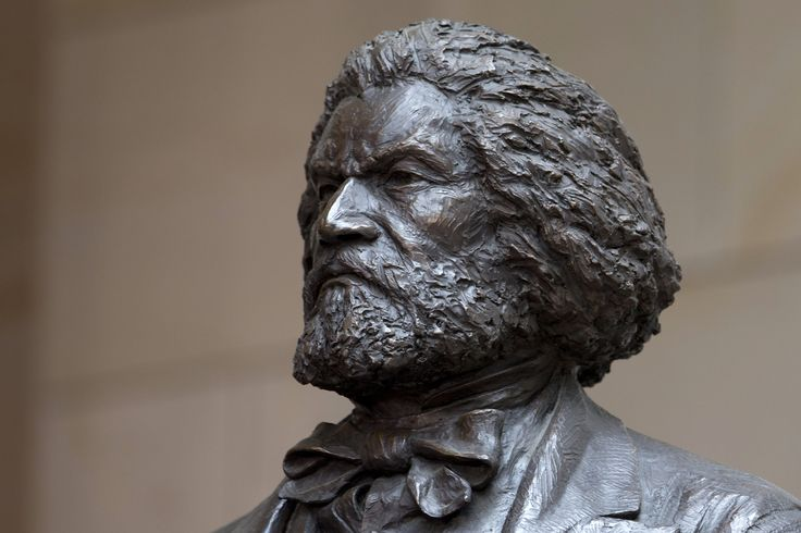 Frederick Douglass, seven-foot bronze statue unveiled at the U.S. Capitol 6/19/13