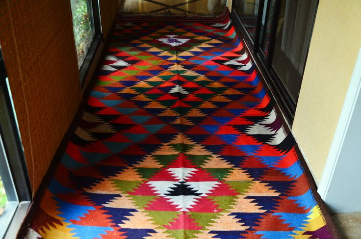 New Afghan refugee kilim very beautiful
