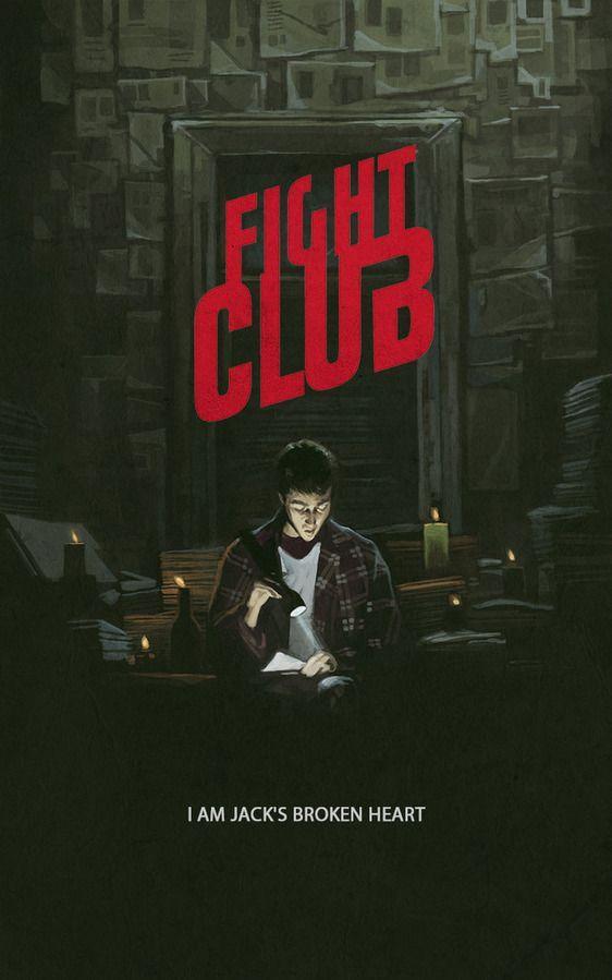 FIGHT CLUB poster by Yuri Shwedoff
