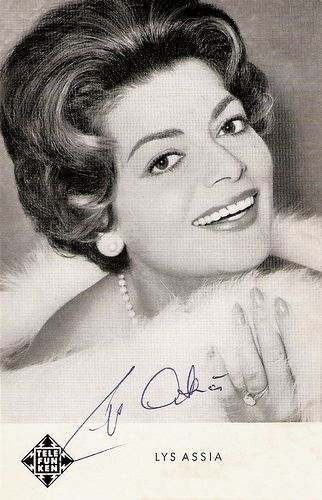 Lys Assia - Switzerland - Eurovision Song Contest 1956