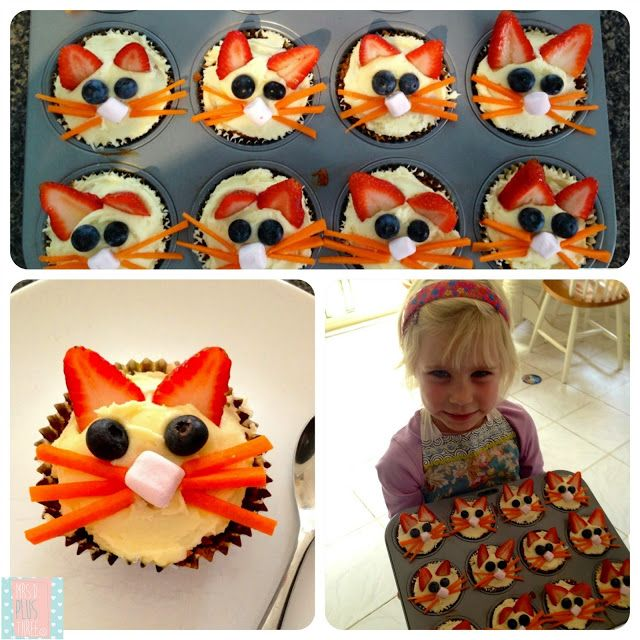 Bunny Carrot Cupcakes (they're as cute as they sound and as yummy as they look)