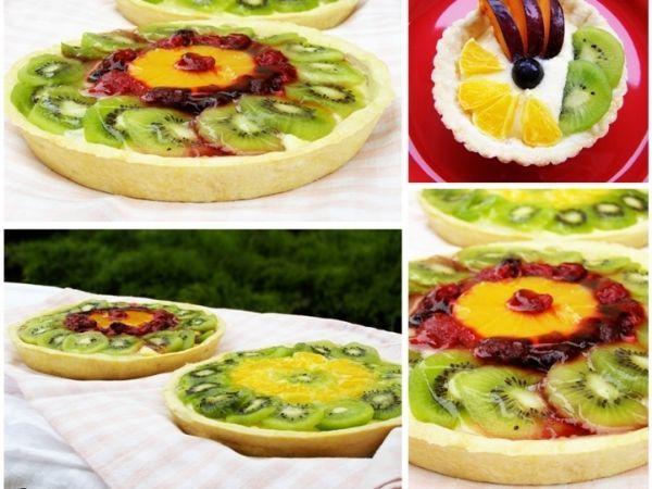 Rețetă Mini-tarte cu fructe si crema de vanilie, de Dulceata_de_trandafiri - Petitchef
