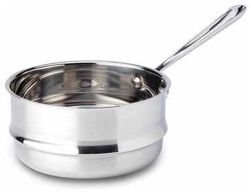 All Clad SS Universal Steamer Insert - contemporary - Specialty Cookware - Chef's Corner Store