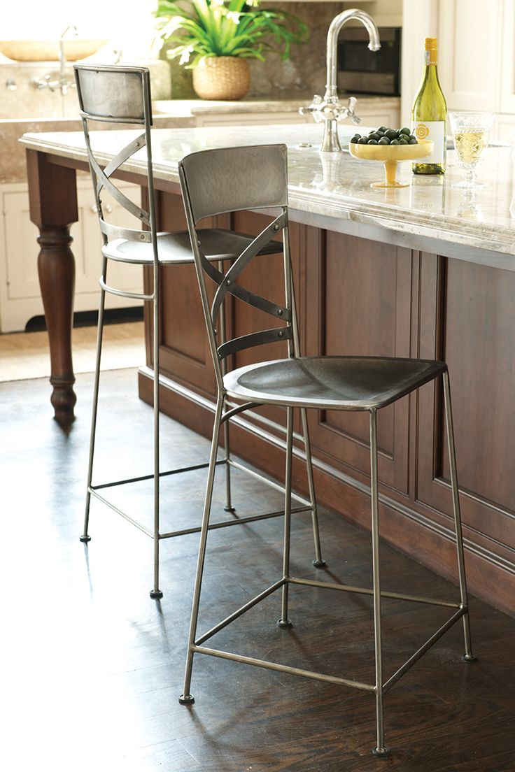 17 best ideas about cool bar stools on pinterest for Kitchen island height