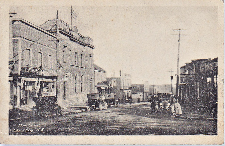 Main St-Glace Bay-Cape Breton-1910 http://capermemories.com