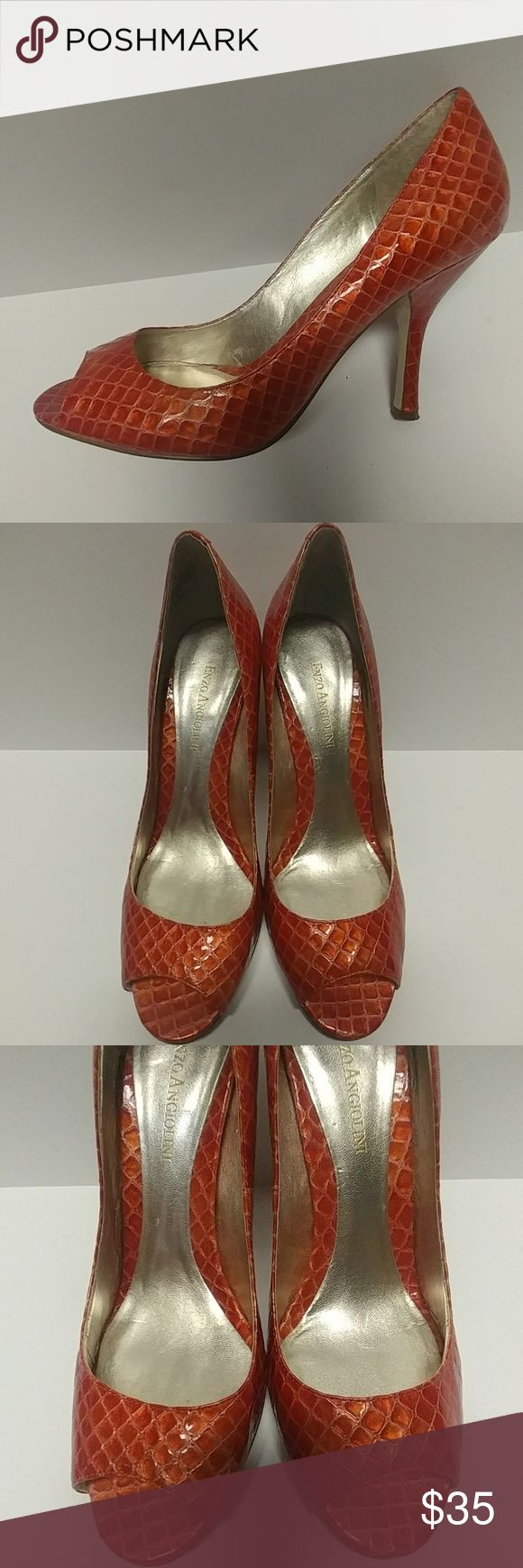 Enzo angiolini patent heels sz 8.5 Great condition Enzo Angiolini Shoes Heels