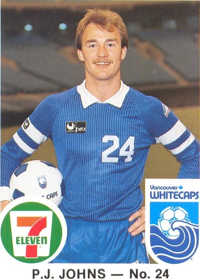 NASL Soccer North American Soccer League Players-P.J. Johns