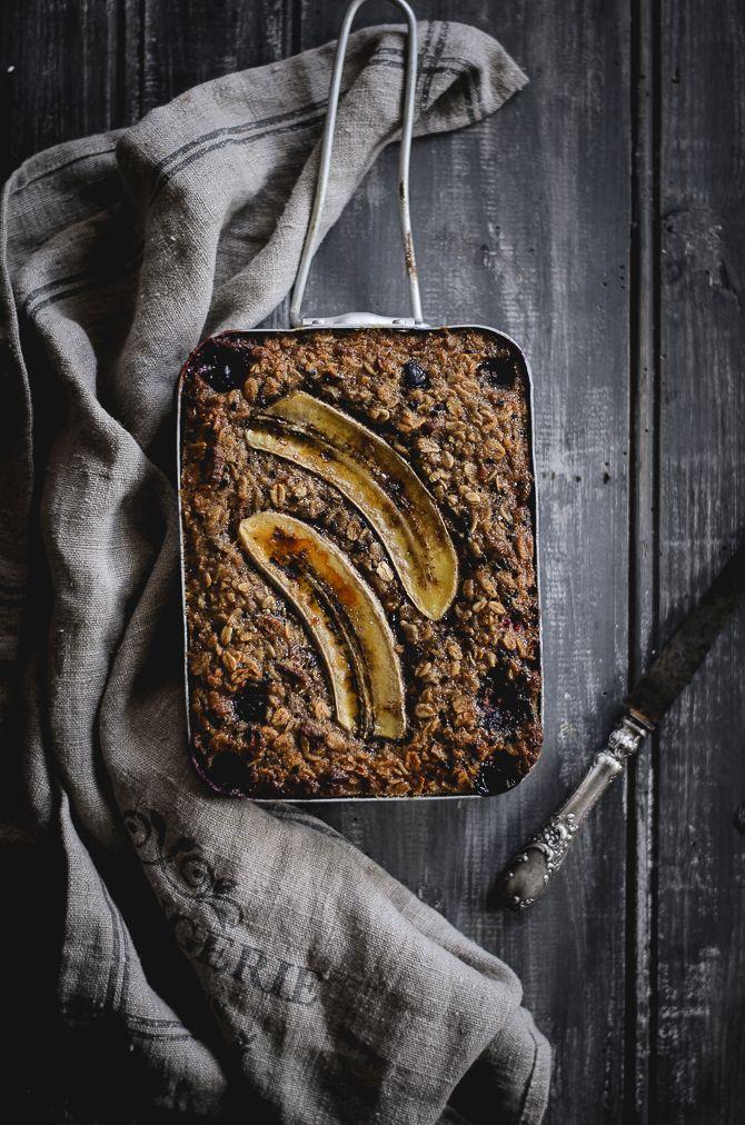 Gosto imenso de aveia quer seja em pão, bolos, crumbles, granola e sobretudo em papas. Quando vi esta receita no Pinterest , fiquei com ...