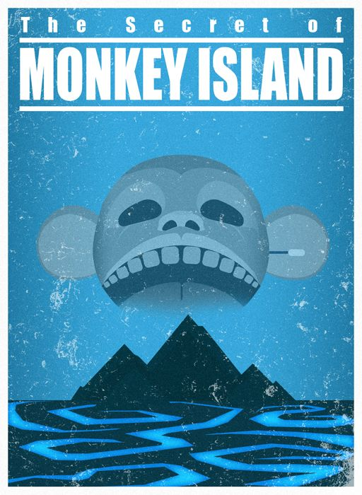 The Secret of Monkey Island - A travel poster by ~Nemiant on deviantART
