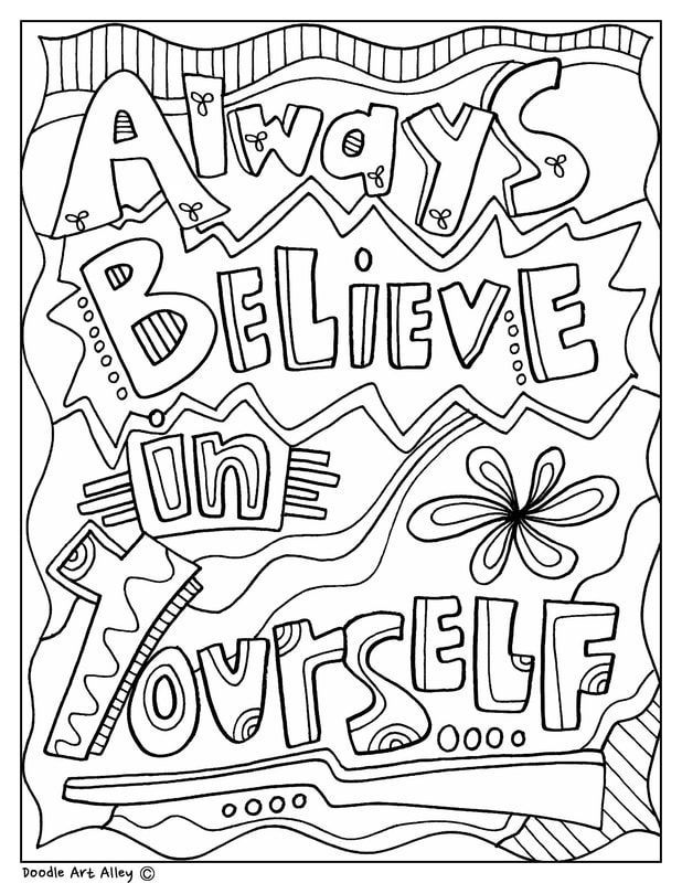 - Educational Quotes Coloring Pages In 2020 Quote Coloring Pages, School Coloring  Pages, Coloring Pages Inspirational