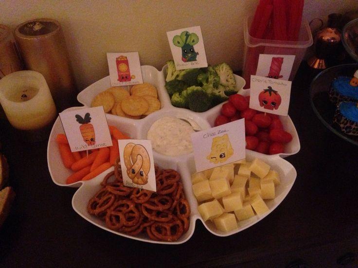 Shopkins party tray
