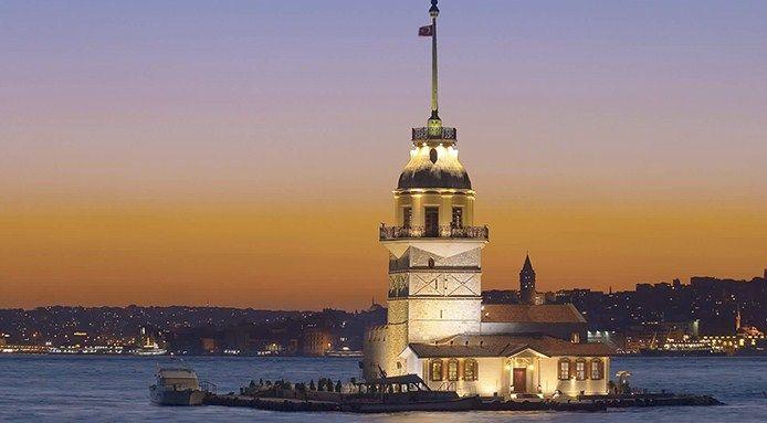 La torre di Leandro, o Torre della Fanciulla: siamo a Istanbul, sul Bosforo: una delle città più affascinanti al mondo!