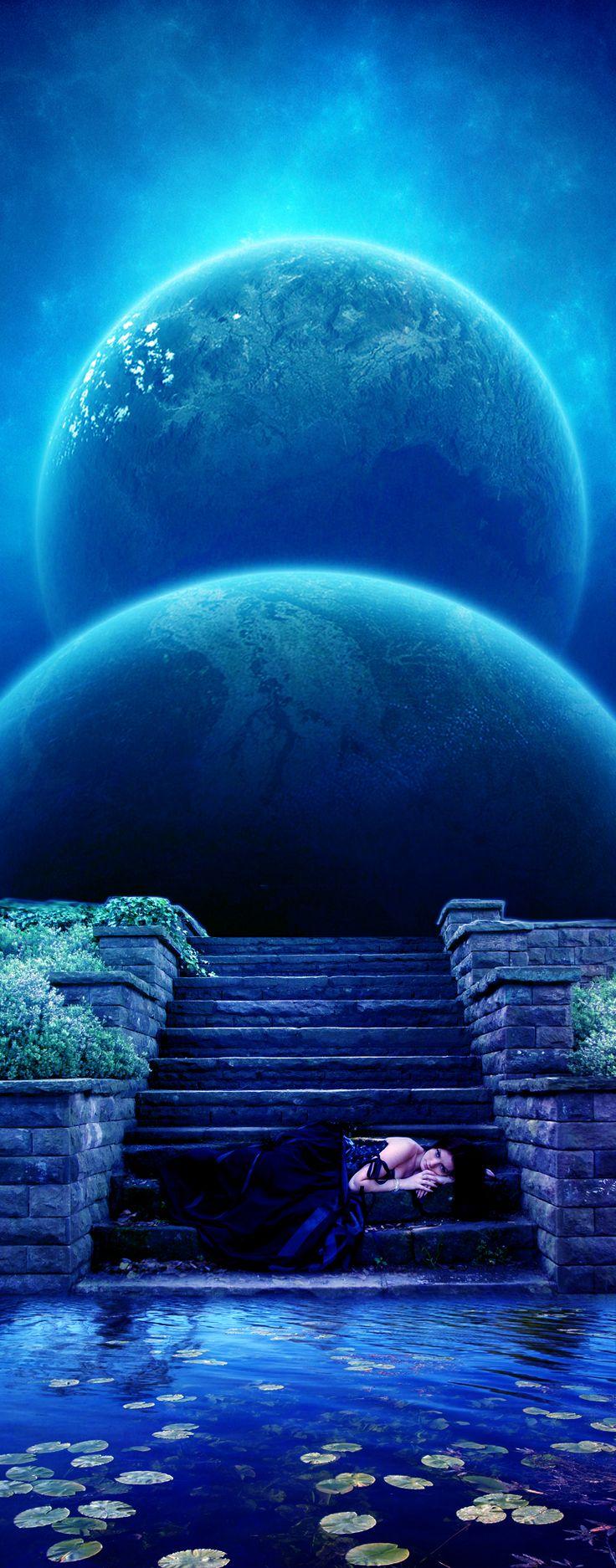 Lagoon by pisimau. #blue