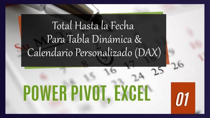 Descubre el Primer Capítulo de la nueva serie de EFB: Aplicaciones Power Pivot + Power View – Calcular Total (Lenguaje DAX)