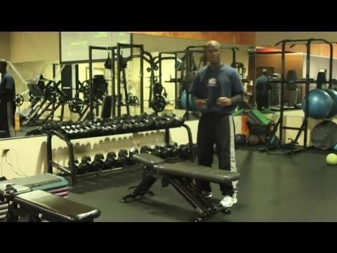 Gym Exercises for Men's Softball : Weightlifting Tips - YouTube