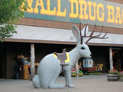 Jackalope at Wall Drug, SD