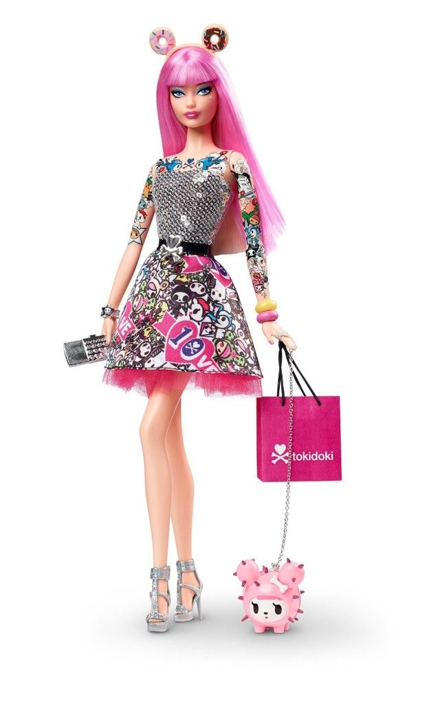 Barbie 10th Anniversary Tokidoki Barbie