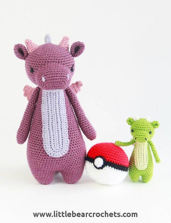 Amigurumi Crochet Dragon Pattern   Crochet   Pinterest   Crochet ...