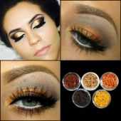 5 MYO Ultra Bright Remix Shimmer Set Eyeshadow Pigment Mica Cosmetic Loose Powder Mineral Makeup