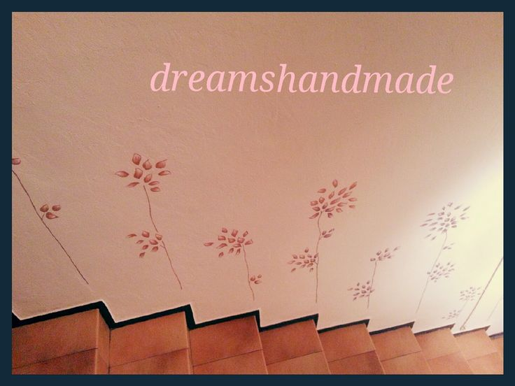 DreamsHandMade..lifestyle & creations: Pittura creativa pareti