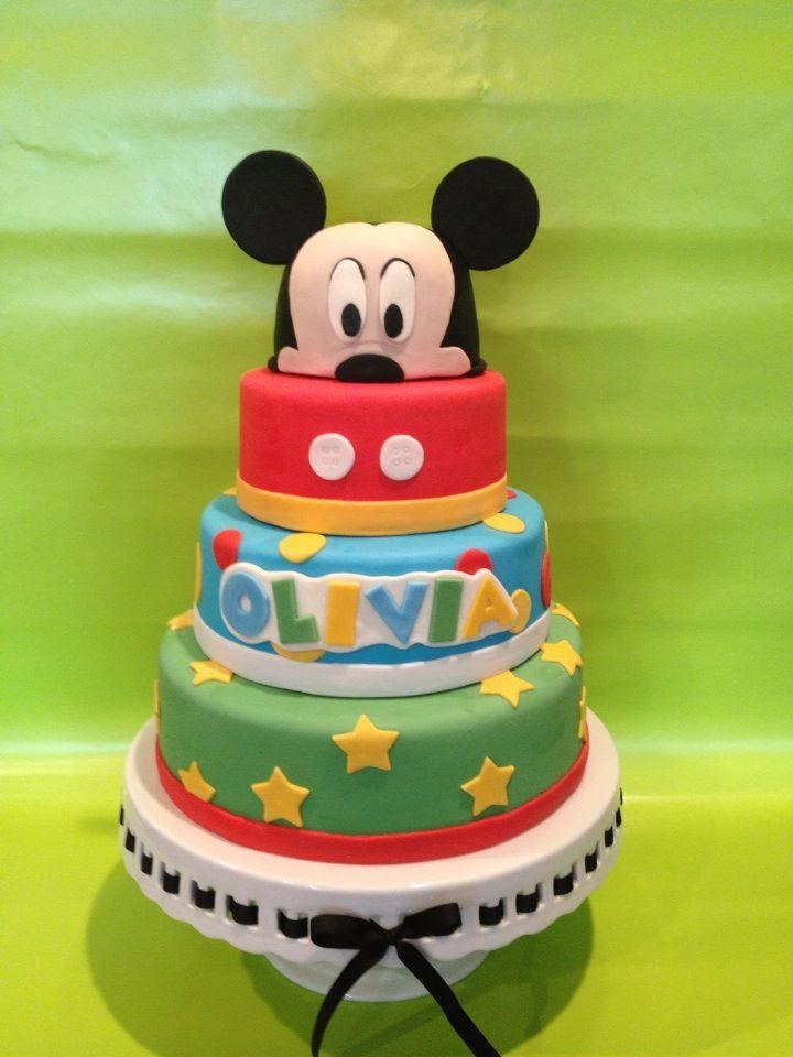 Mickey Mouse Clubhouse Cake Mickey Mouse Club House
