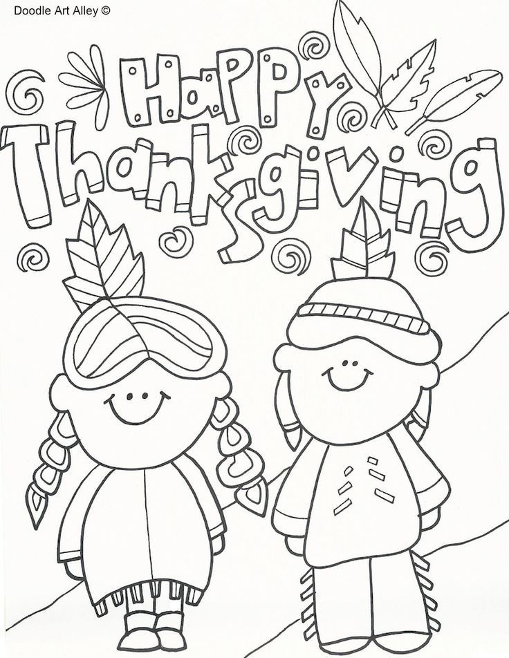 Thanksgiving Coloring Pages Free thanksgiving coloring