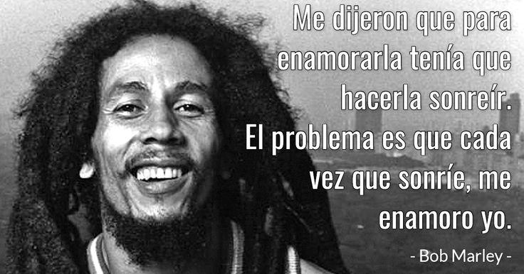 Frases geniales de Bob Marley acerca de cómo amar a una mujer #FrasesyPensamientos #amor #BobMarley #frases #HistoriasyLeyendas