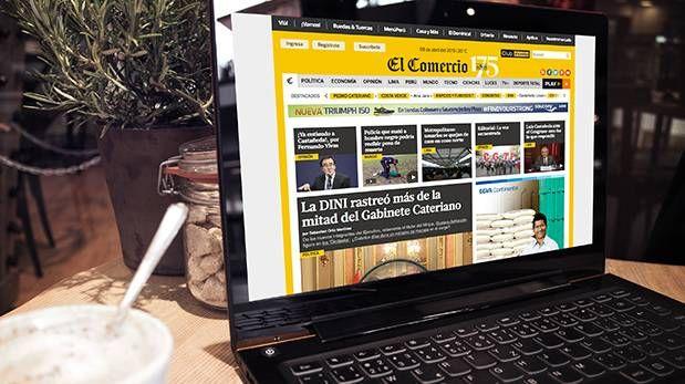 El Comercio se posiciona como medio online más visitado en Perú