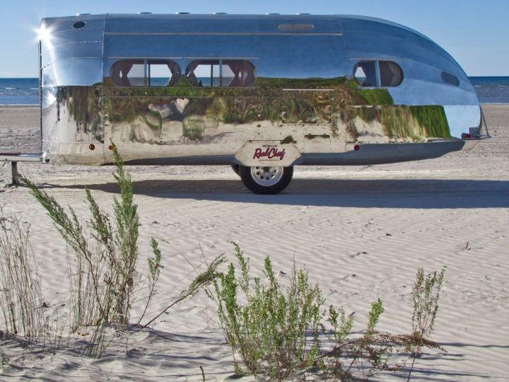 Bowlus Road Chief Compact Aluminum Trailer